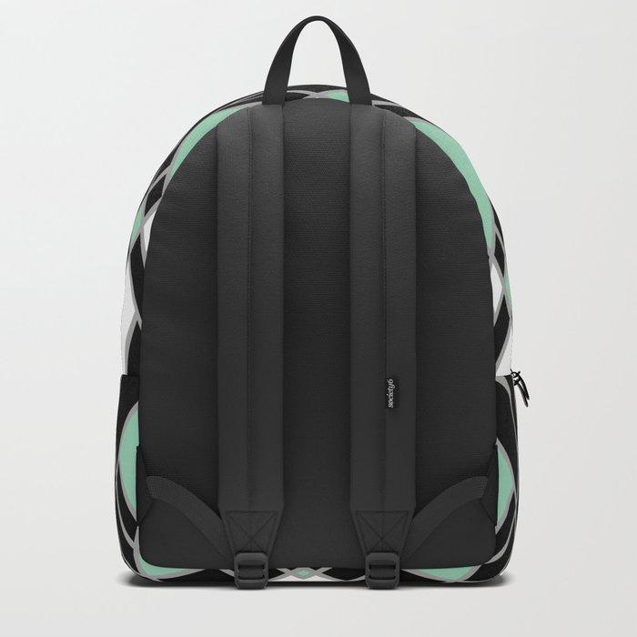 Art Deco Zoom Mint Backpack