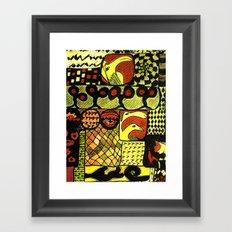 network 2 Framed Art Print