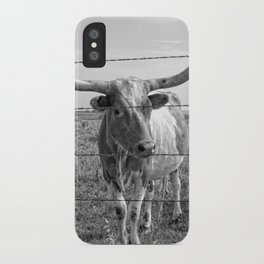 Longhorn Cows iPhone Case