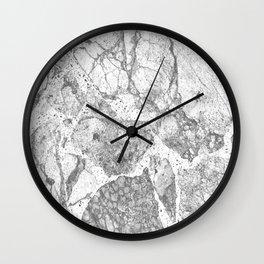 Marble Grey Wall Clock