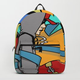 Keep Moving Forward Backpack