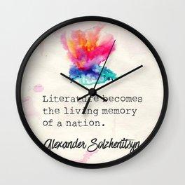 Alexander Solzhenitsyn literature  Wall Clock