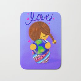 Love Earth Kokeshi Bath Mat