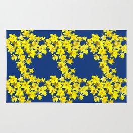 Daffodil Print Rug