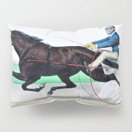 The grand California filly Sunol, record - Digital Remastered Edition Pillow Sham