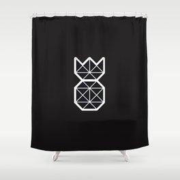 Minimalist Pineapple Shower Curtain