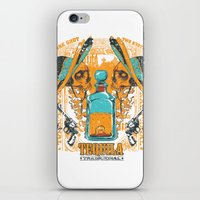 tequila iPhone & iPod Skins featuring Tequila Duel by Tshirt-Factory