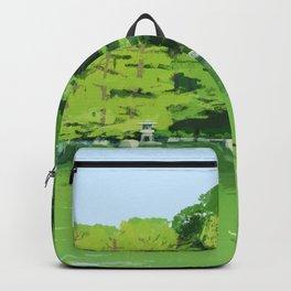 Green pond Backpack