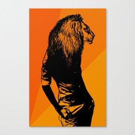Iron Lion Zion Canvas Print