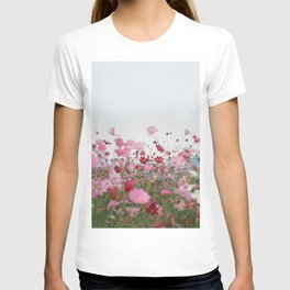 Flower photography by MIO ITO T-shirt