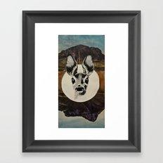 Desert Eyes Framed Art Print