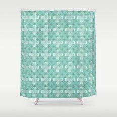 Emerald Twist Shower Curtain