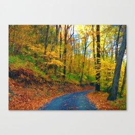Autumn in Pennsylvania Canvas Print