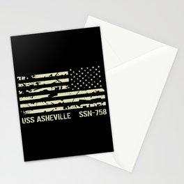 USS Asheville Stationery Cards