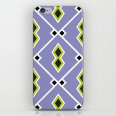 Lilac Aztec iPhone Skin