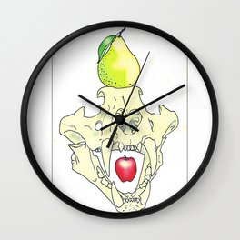 Apples & Pears Wall Clock