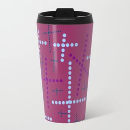 Croisement violet2 Travel Mug