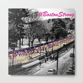 BOSTON STRONG Metal Print