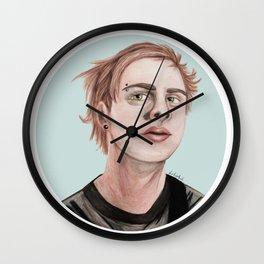 Michael Ocean Blue Wall Clock