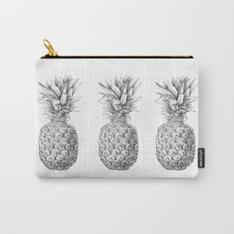 Pineapple, tropical fruit illustration Carry-All Pouch