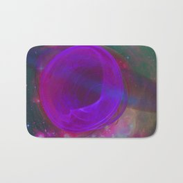 Welcome To The Wormhole Bath Mat