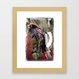 Digital Indian 12 Framed Art Print