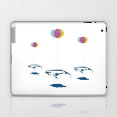 Whale Riders! Laptop & iPad Skin