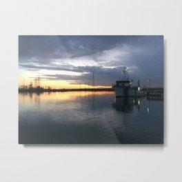 Sunrise over Port Adelaide Metal Print
