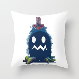 Glow In The Dark Throw Pillow