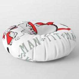 Man-Tit-Mas Floor Pillow
