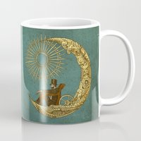 marianna Mugs featuring Moon Travel by Eric Fan
