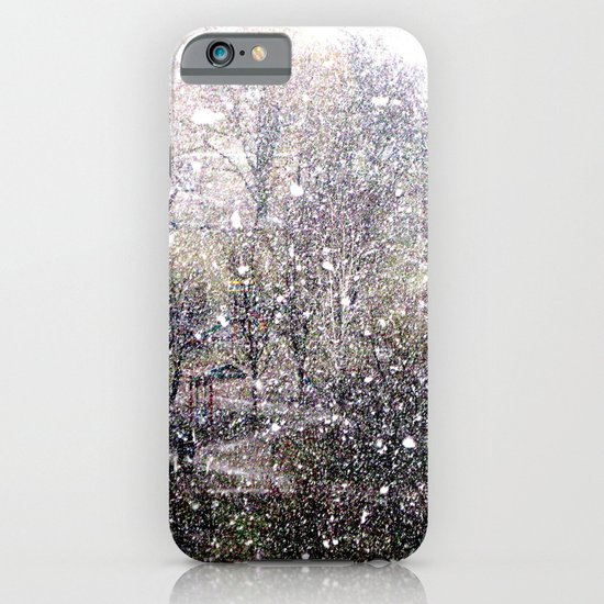 Snow in early fall(1)  iPhone & iPod Case