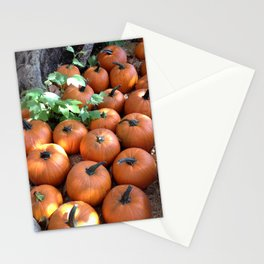 Fall Pumpkin Patch Stationery Cards
