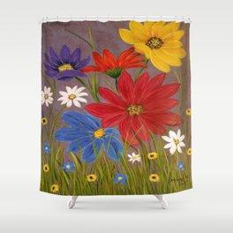 Wildflower-2 Shower Curtain