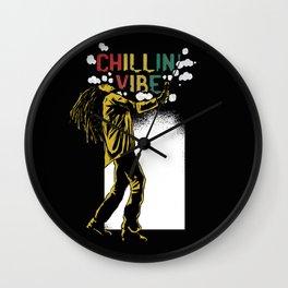 Chilling Vibe Wall Clock