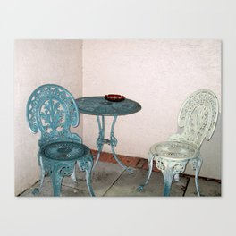 Sit Down Canvas Print
