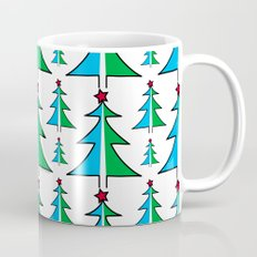 Christmas Tree Pattern Coffee Mug