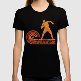 Retro Style Shot Put Vintage Track T-shirt