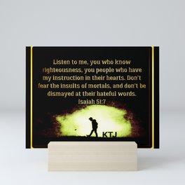 Scripture Pictures 14-02 Mini Art Print