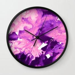 inkblot marble 10 Wall Clock