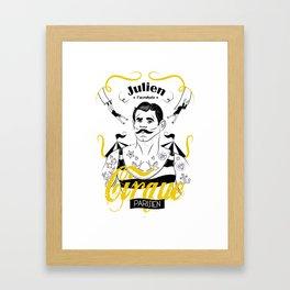 Julien l'acrobate Framed Art Print