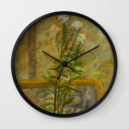 Lean Against a Mirror Wall Clock