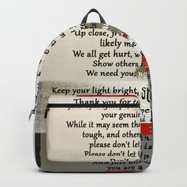 Dear Good People Backpack