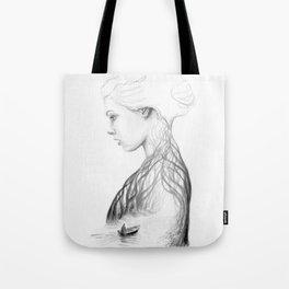 Onward and Inward Tote Bag