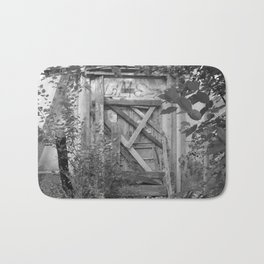 "Door to the deep down ""LIME"" Bath Mat"