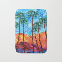 California Palm Trees Bath Mat