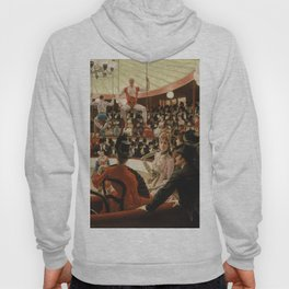 James Tissot - Women of Paris the circus lover Hoody