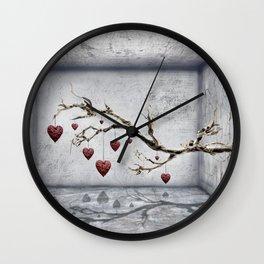 Der alte Liebesbaum  Wall Clock