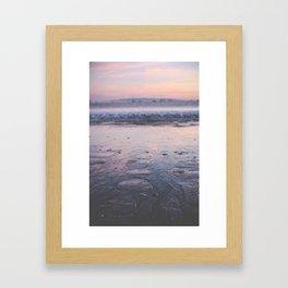 A California Sunset Framed Art Print