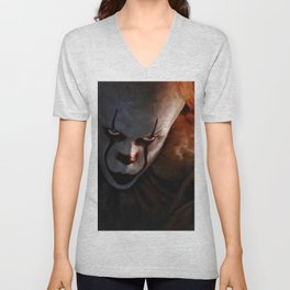 Pennywise The Dancing Clown - IT Unisex V-Neck